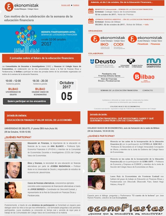 Semana Finanzas Bilbao