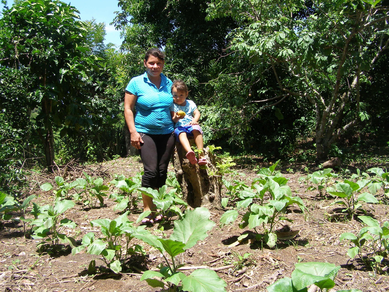 Yudit Romero agricultora El Salvador
